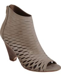 Barneys New York Cutout Ella Ankle Boots - Lyst
