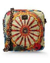 Dolce & Gabbana Small Fabric Bag - Lyst