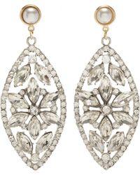 Fenton - Crystal Regalia Earrings - Lyst