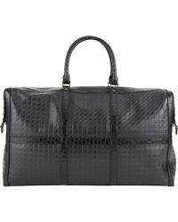 Proenza Schouler Crocodiletrim Stamped Leather Duffel Bag - Lyst