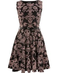 Sodamix Printed Baroque Skater Dress - Lyst