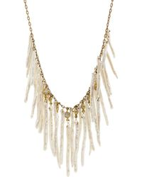Ten Thousand Things - Freshwater Pearl Diamond Waterfall Necklace - Lyst