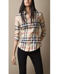 Burberry - Exploded Check Shirt - Lyst