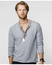Denim & Supply Ralph Lauren Henley Shirt - Lyst