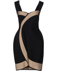 Hervé L. Leroux Short Dress - Lyst