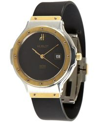 Hublot - Gold and Stainless Steel Rubber Strap Classic Fusion Vintage Watch - Lyst