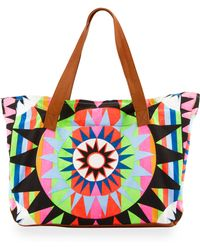 Mara Hoffman - Printed Canvas Weekend Bag - Lyst