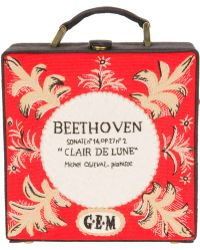 Olympia Le-Tan Beethoven Carry Case - Lyst