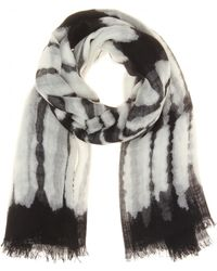 Proenza Schouler - Cashmere and Silkblend Printed Scarf - Lyst