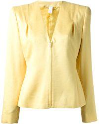 Versace Yellow Zip Jacket - Lyst