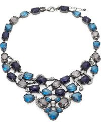ABS By Allen Schwartz - Jewel Bib Necklace - Lyst