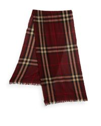 Burberry Woven Icon Scarf - Lyst