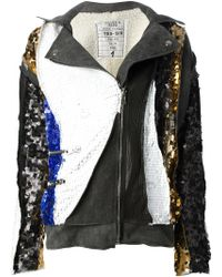 Filles A Papa - Sequined Jacket - Lyst