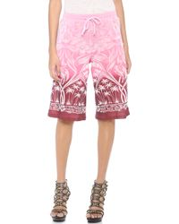 Jean Paul Gaultier - Printed Shorts - Lyst