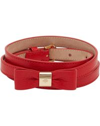 Mulberry R Bow Belt - Lyst