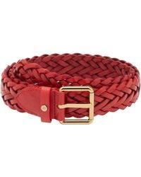Mulberry R Braided Belt - Lyst