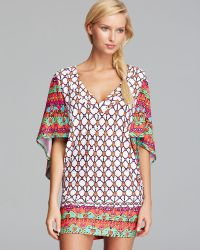 Trina Turk Venice Beach Cover Up Tunic - Lyst