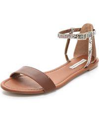 Twelfth Street Cynthia Vincent - Frida Flat Sandals - Lyst