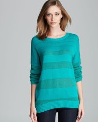 Two By Vince Camuto - Descending Sheer Stripes Jumper - Lyst