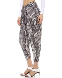 Willow - Draped Trousers - Lyst