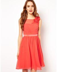 Coast - Penelope Flower Dress - Lyst