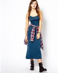 Vero Moda Very - Strappy Cami Maxi Dress - Lyst
