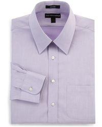 Saks Fifth Avenue Black Label - Classic Cotton Pique Dress Shirt - Lyst