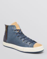 Converse Chuck Taylor All Star Premium Post Zip High Top Sneakers - Lyst