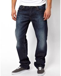 Diesel Jeans Larkee 823G Straight Fit Mid Wash - Lyst