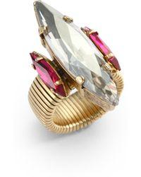 Janis Savitt - Marquiscut Crystal Ringclear - Lyst