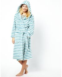 Joules - Rita Dressing Gown - Lyst