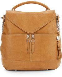 Olivia Harris | Leather Hobo Handbag | Lyst