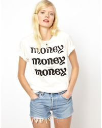 Peter Jensen Money Tshirt - Lyst