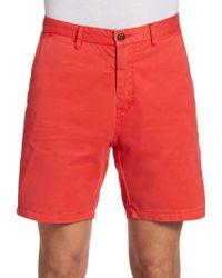 Scotch & Soda Cotton Chino Shorts - Lyst