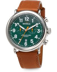Shinola The Runwell Chronograph Watch - Lyst