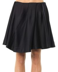 Thakoon Addition | Gathered Front Mini Skirt | Lyst
