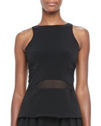 Elizabeth And James Theia Sheerwaist Tank - Lyst