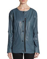 Kelly Wearstler Fallen Leather Jacket - Lyst