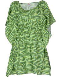 Marzia Genesi Sea - Short Dress - Lyst