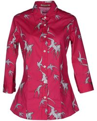 Samantha Sung - Shirt with 34length Sleeves - Lyst