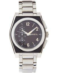 Breil - Escape Silver Bracelet Watch - Lyst