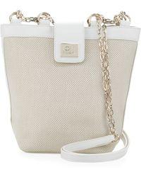 Gianfranco Ferré Woven Chainstrap Shoulder Bag - Lyst