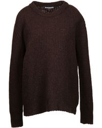 Rochas Long Sleeve Sweater - Lyst