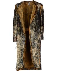 Gregory Parkinson Fulllength Jacket - Lyst