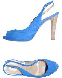 Martin Clay Platform Sandals - Lyst