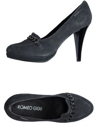 Romeo Gigli - Moccasins with Heel - Lyst