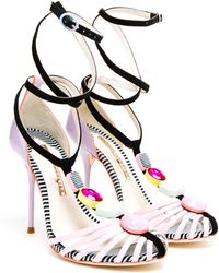 Sophia Webster Jojo Jewel Embellished Sandals - Lyst