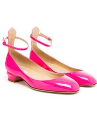 Valentino Tango Patent Leather Mary Jane Pumps - Lyst
