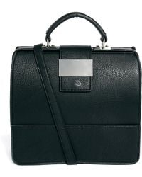 ASOS   Handheld Bag with Chunky Front Metal Plate   Lyst