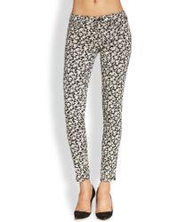 Genetic Denim Shane Floral-Print Skinny Jeans - Lyst